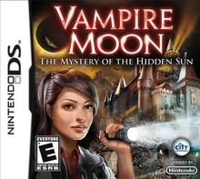 Vampire Moon: The Mystery of The Hidden Sun NDS