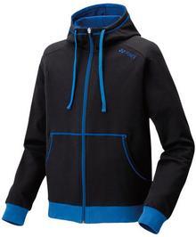 Yonex Bluza Unisex Full Zip Hoodie 32010EX Black