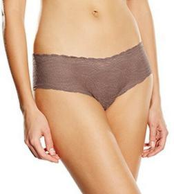 Calvin Klein Figi underwear dla kobiet, kolor: szary, rozmiar: 36 (rozmiar producenta: S)