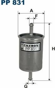 FILTRON PP 831 FILTR PALIWA