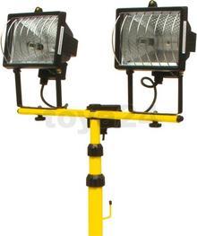 Vorel 2 lampy halogenowe 400 w na stojaku 82787