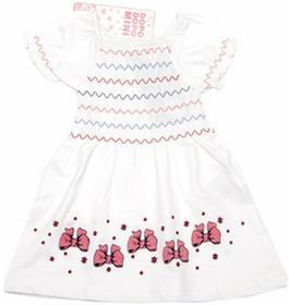 Unknown Urocza biała Sukienka dziecięca DopoDopoMini