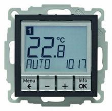 Berker Regulator temperatury ze sterowaniem czasowym i elementem centralnym; a