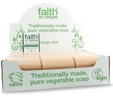 Organiczne Mydło w kostce antybakteryjne Neem & Propolis, 18sztuk x 100g - Faith In N
