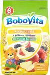 Nutricia BoboVita Dla małego brzuszka Kaszka 7 zbóż z jabłkami i śliwkami po 6 miesiącu 180 g