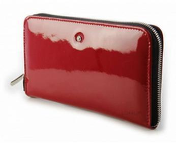 Wojewodzic portfel damski Swarovski Elements - czerwony WPD66/PL02