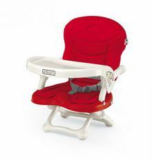 CAM Smarty - fotelik do karmienia mocowany na krzesło czerwone 26