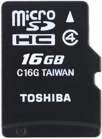 Toshiba Micro SDHC Class 4 bez adaptera 16GB