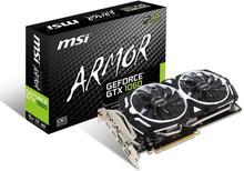 MSI GeForce GTX 1060 Armor 6G OCV1 VR Ready