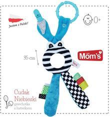 Hencz Toys Moms Care Cudak lusterko zabawka niemowlęca niebieskie