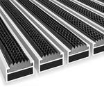 maxczysto Wycieraczka Aluminiowa Clean rubber 50 x 80 cm