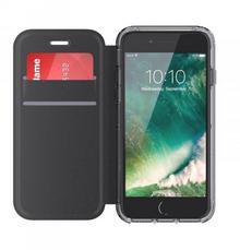 Griffin Survivor Clear Wallet - Etui iPhone 7 / iPhone 6s / iPhone 6 (czarny/przezroczysty) GB42779
