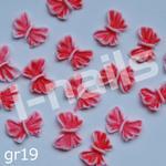 Opinie o Japan Style Gumowe Rozmaitości 4szt. gr19 czerwone motyle