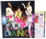 TOP MODEL Dance zestaw kreatywny Depesche