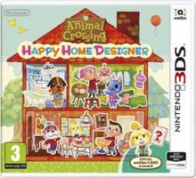 Animal Crossing Happy Home Designer + karta Amiibo 3DS
