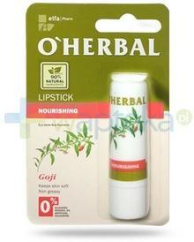 ELFA PHARM POLSKA O'Herbal odżywcza nietłusta pomadka bezbarwna z ekstraktem goji 4,8 g Elfa Pharm 7068733