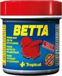 Tropical Betta pokarm płatkowany dla bojowników 50ml/15g
