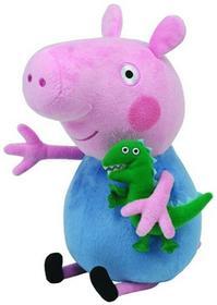 Ty Inc. Beanie Babies Peppa Pig - George średni