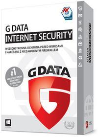 GData Internet Security 2016 (3 stan. / 2 lata) - Nowa licencja