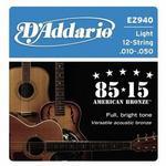 DAddario EZ940 struny do gitary akustycznej 12str DADEZ940STR12