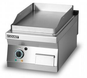 Lozamet Grill płytowy elektryczny - płyta gładka 400 mm L700.GPE400G