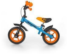 Milly Mally Rowerek biegowy z hamulcem Dragon Orange-blue