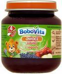 Nutricia BOBOVITA BoboVita Owoce Jabłka i jagody po 4 miesiącu 125 g