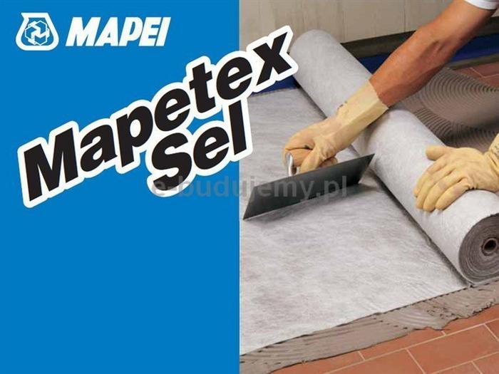 Mapei Mapetex Sel 1m x 25m - Polipropylenowa włóknina do wzmacniania membran wod