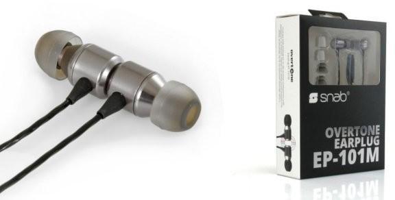 Snab EP-101M czarno-srebrne