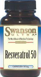 SWANSON Resweratrol 50 30 szt.