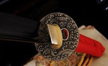 Kuźnia mieczy samurajskich Miecz katana do treningu , stal warstwowana damsat, r