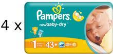 Pampers New Baby 1 Newborn 172 szt.