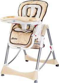 Caretero IKS 2 Krzesełko do karmienia Bistro Cappuccino