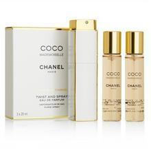 Chanel Coco Mademoiselle Twist And woda perfumowana 3x20ml