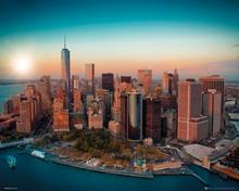 New York - One World Trade Center Manhattan Plakat