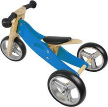 NICKO Drewniany jeździk 2w1 mini rowerek trzykołowy