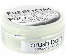 Freedom Makeup Freedom Pro Studio Solid Brush Bath szampon do mycia pędzli 100ml