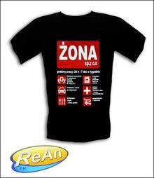ŚmieSzne Koszulki Żona Sp.zoo
