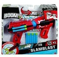 Mattel BoomCo Slamblast + 8 strzałek CFD42