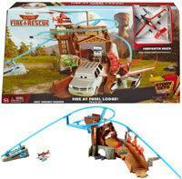 Mattel Samoloty Planes - Zestaw Pożar w Kadłubacówce CDR39