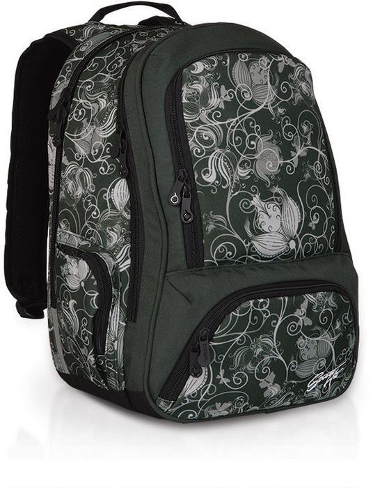 fb64260f4116e Topgal Plecak młodzieżowy HIT 820 A - Black Green – ceny
