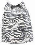 Mi Pac Swing Bag Canvas Zebra Black/White 004)