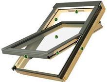 Fakro Okno obrotowe drewniane FTS U2 66x118 fts u2-66x118