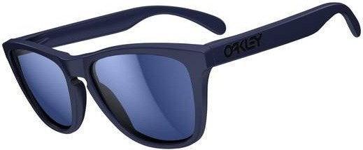 Oakley Okulary Frogskins Artesian Blue/Blue Iridium 24-345 - Okulary Frogskins Mesa Orange/F