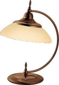 Amplex Onyx 334 Lampa nocna Patyna mat/opal 60W E27