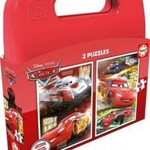 Educa Walizka puzzle 2x48 Cars WZEDUT0UCD00022