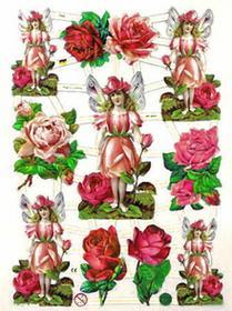 Efco Obrazki do scrapbookingu - 84 Róże