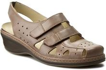Comfortabel Sandały 720095 Braun 2 skóra naturalna/licowa