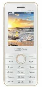 Maxcom MM136 Biało-złoty