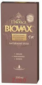 Lbiotica Intensywnie regenerujący szampon ARGAN MAKADAMIA KOKOS 200ml